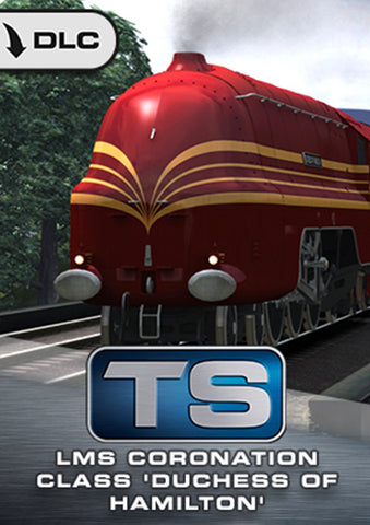 Once a record-breaking steam locomotive admired by many on the UK's rail network, the LMS Coronation Class 'Duchess of Hamilton' comes to Train Simulator in its striking streamlined variant, and is now available from trainsim.store.