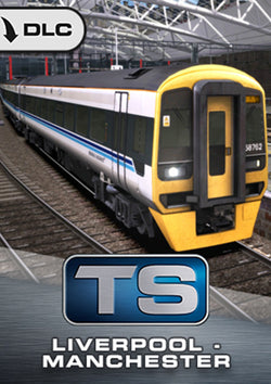 Joining two of the north of England's major cities, the Liverpool to Manchester route for Train Simulator features stunning stations and well known landmarks throughout.