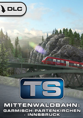 Experience the Mittenwaldbahn for Train Simulator, now available from trainsim.store.
