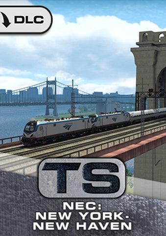 The sprawling Big Apple and the bustling city of New Haven come together in the exciting new NEC: New York-New Haven route for Train Simulator, featuring many of New York's famous landmarks and advanced signalling throughout.