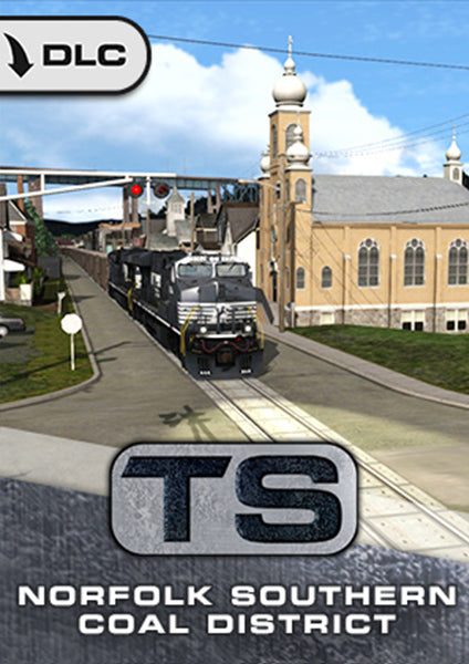 The beautifully rural Mon Line running through the heart of Pennsylvania springs to life in this new route for Train Simulator, complete with mile-long coal trains and distinctive street running.