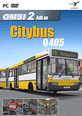 The Citybus O405, built between 1987 and 2001, belongs to the last generation of high-floor buses.
