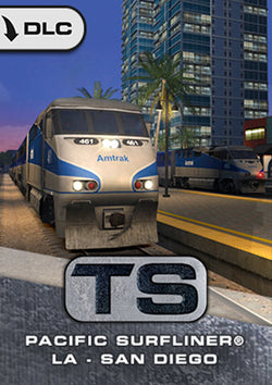 Pacific Surfliner LA to San Diego Route Add-On