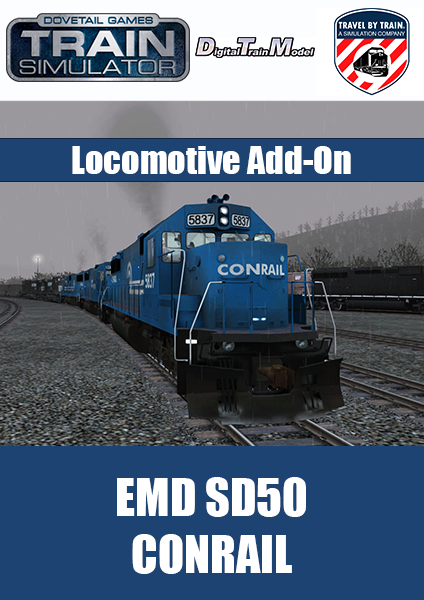 EMD SD50 Conrail Locomotive Add-On