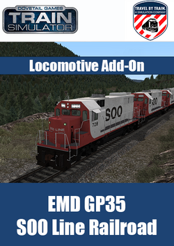 EMD GP35 SOO Line Locomotive Add-On