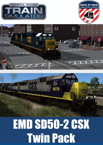 EMD SD50-2 CSX Twin Pack