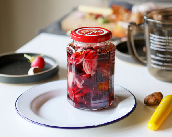 RECIPES | Pickled Baby Veg