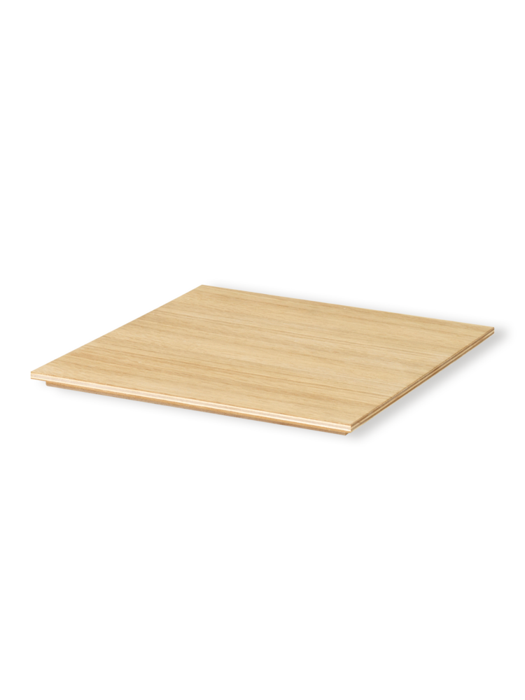 ferm LIVING | Large Tray for Plant Pot - Oiled Oak