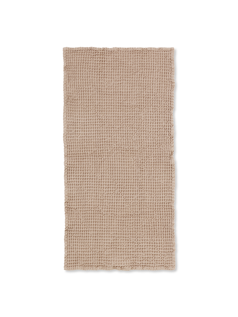ferm LIVING | Organic Hand Towel - Tan