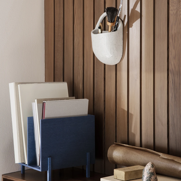 Ferm Living | Paper Organiser - Blue Stained Ash