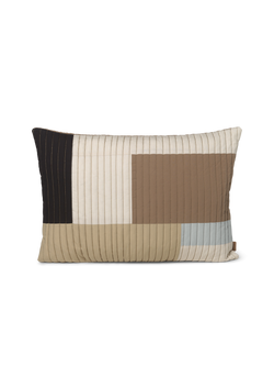 Ferm LIVING | Shay Quilt Cushion - Desert