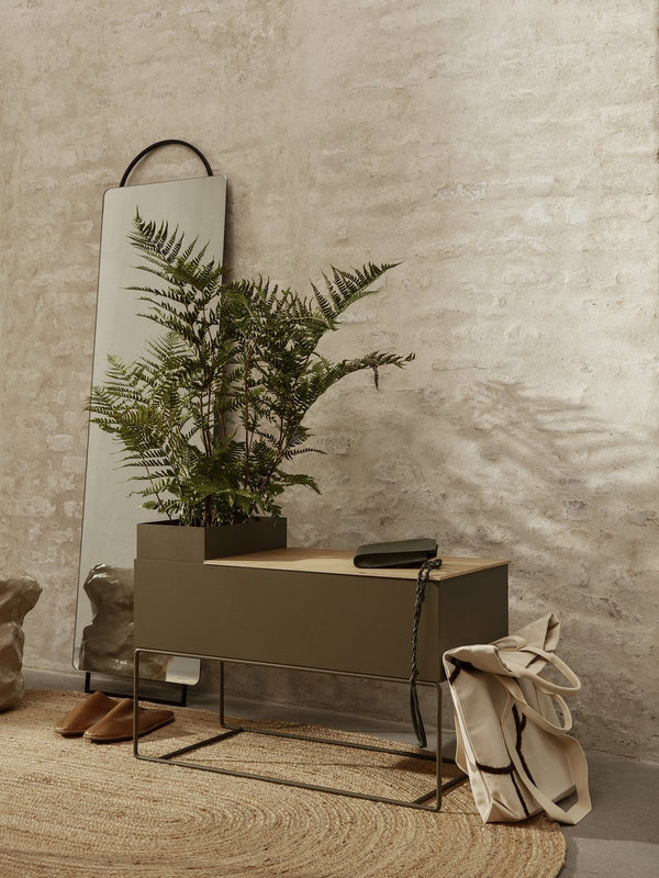ferm LIVING | Plant Box Large - Olive