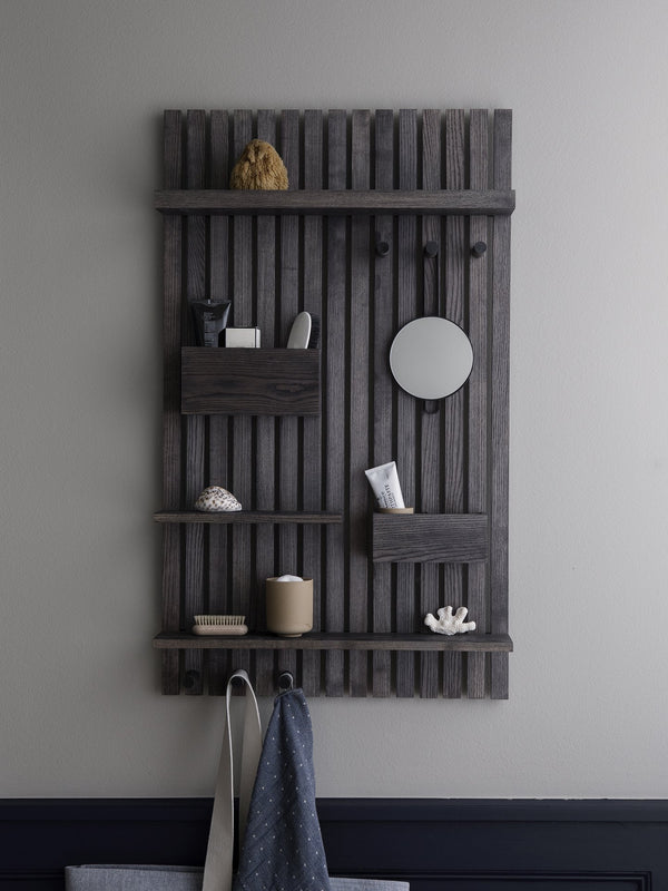 Ferm Living | Wooden Multi Shelf - Stained Black