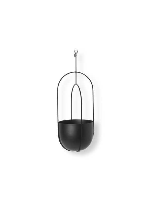 ferm LIVING | Hanging Deco Pot - Black