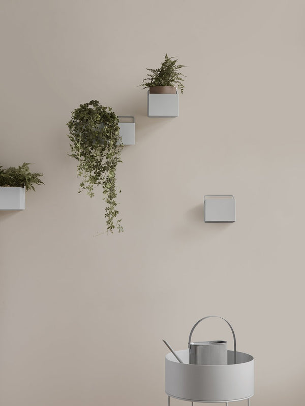 ferm LIVING | Wall Box - Light Grey - Square