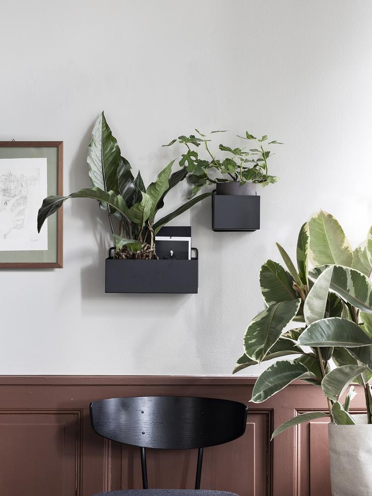 ferm LIVING | Wall Box - Black - Rectangle