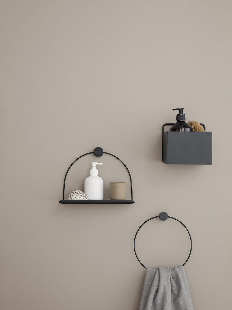 ferm LIVING | Bathroom Shelf - Black