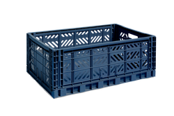HAY | Colour Crate - Navy - L