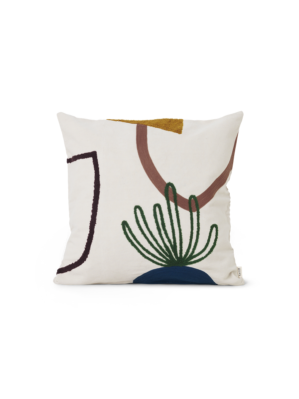 ferm LIVING | Mirage Cushion - Island
