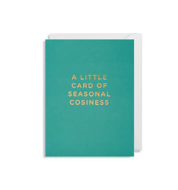 Cherished | A Little Card of Seasonal Cosiness