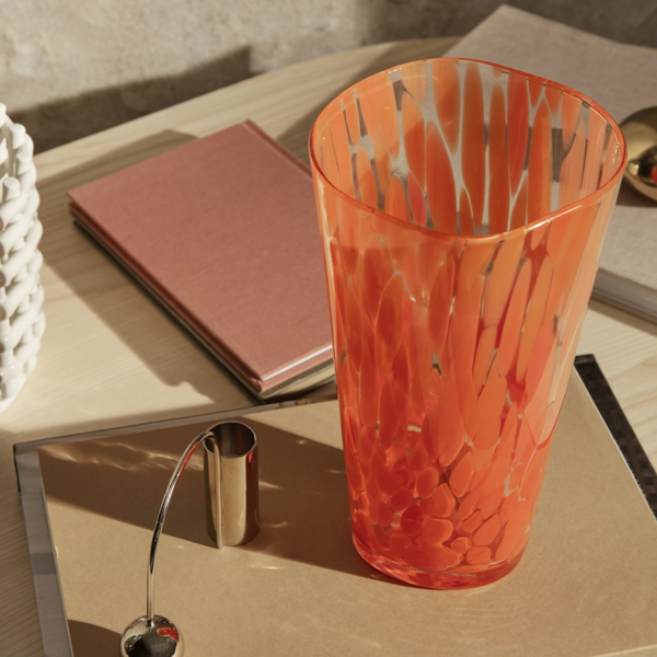 ferm LIVING | Casca Vase - Poppy Red