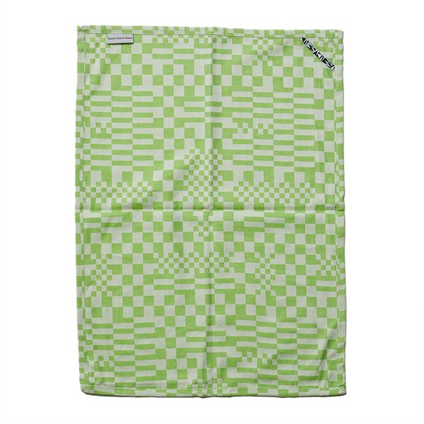 Dusen Dusen | Tea Towel - Green Check