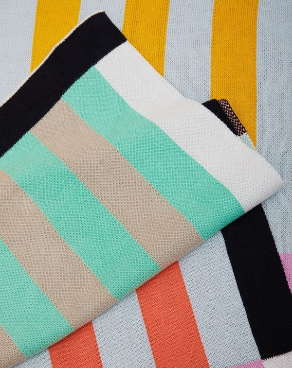 Dusen Dusen | Stripe Throw - Multi