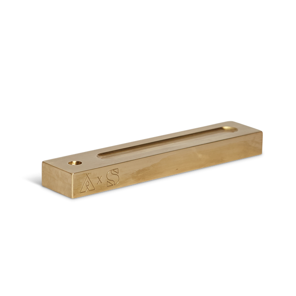 Earl of East x Swarf Hardware | Brass Incense Holder - Copal Set