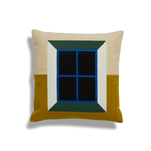 Dusen Dusen | Embroidered Cushion - Window