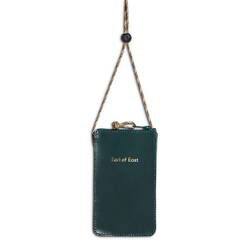 Earl of East x KayK Goods | Leather Lanyard Wallet - Dark Green