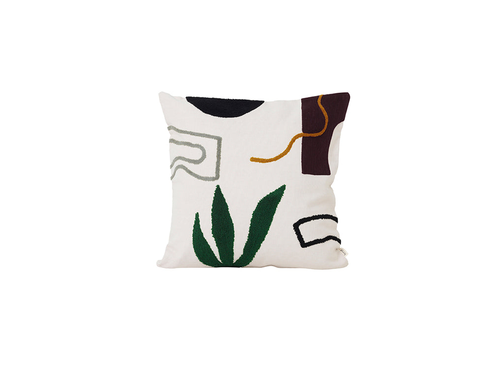 ferm LIVING | Mirage Cushion - Cacti