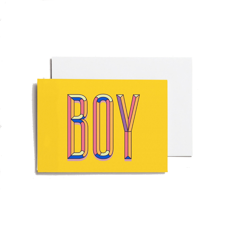 Boy - A6 Greeting Card
