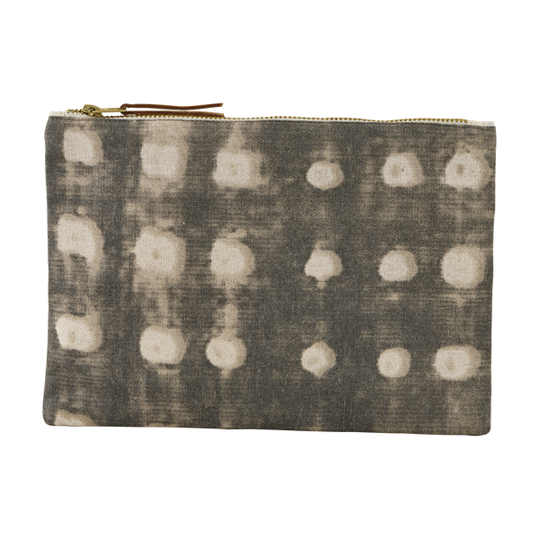 House Doctor | Cosmetic Bag - Dots / Grey