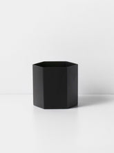 ferm LIVING | Hexagon Pot - Black