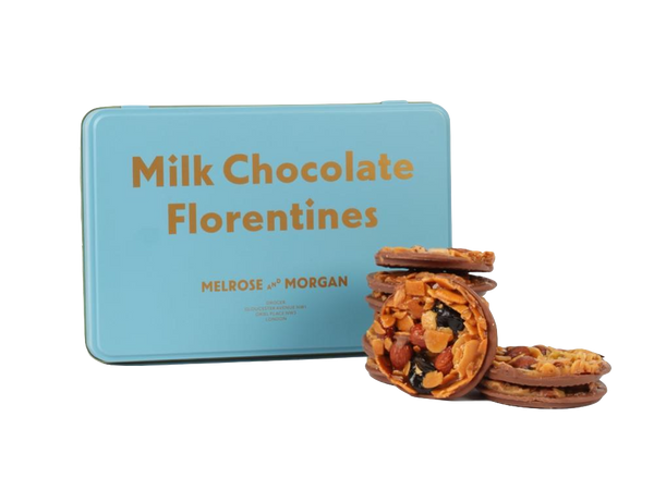 Melrose & Morgan  | Milk Chocolate Florentine Tin