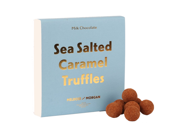 Melrose & Morgan  | Sea Salted Caramel Truffles Box