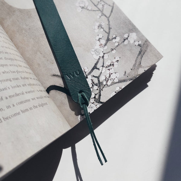 MWMakes | Green Bookmark