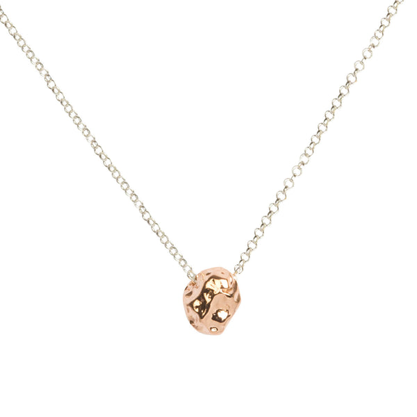 Matthew Calvin | Meteorite Pendant Small - Rose Gold