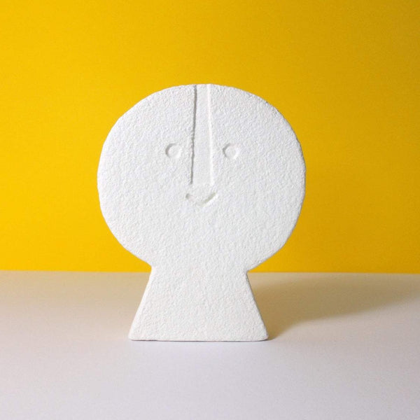 Peter Slight Ceramics | Medium Head - Flat Front