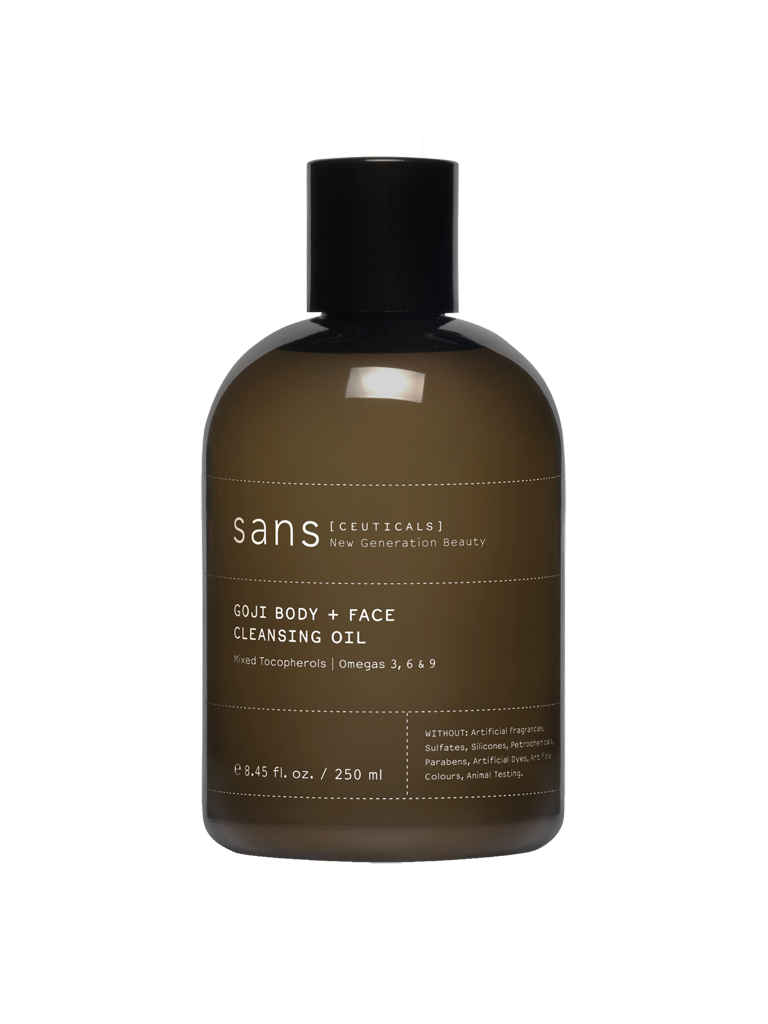 Sans [Ceuticals] | Goji Body + Face Cleansing Oil - 250ml