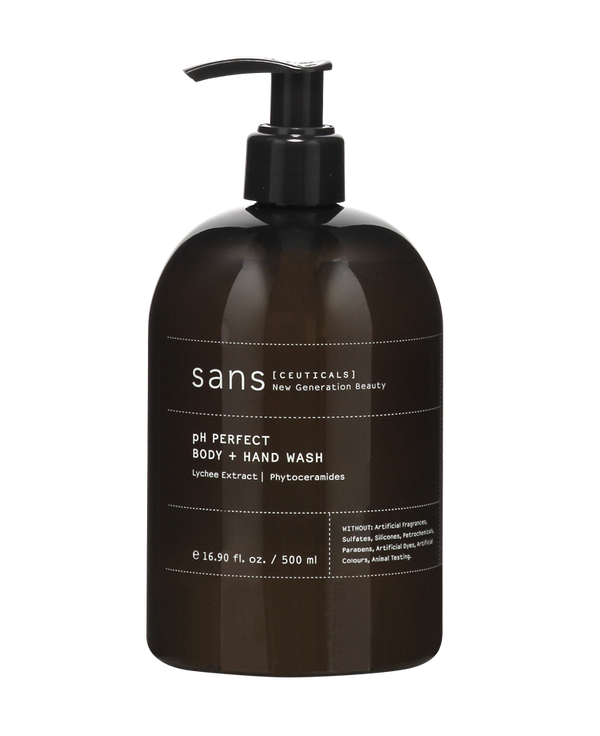 Sans [Ceuticals] | pH Perfect Body + Hand Wash - 500ml