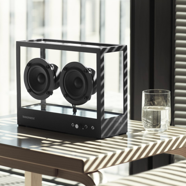 Transparent Speaker | Black