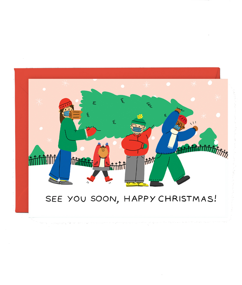 Wrap | See You Soon - Christmas Card