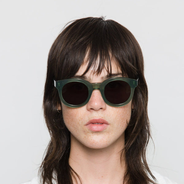 Monokel Eyewear | Shiro Clear Green