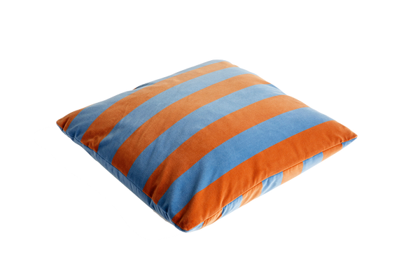 HAY | XL Soft Stripe Cushion - Soft Blue