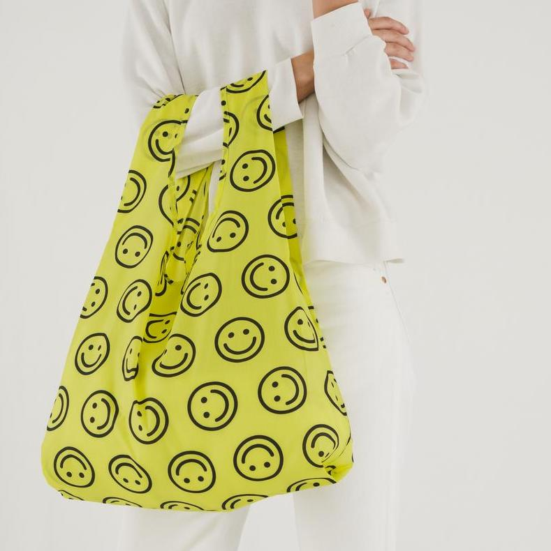 Baggu | Standard Reusable Bag - Yellow Happy