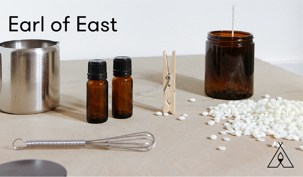 Earl Of East |  Online Candle Making Workshop E-Voucher