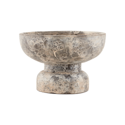 House Doctor | Ancient Tealight Holder - Grey / Brown