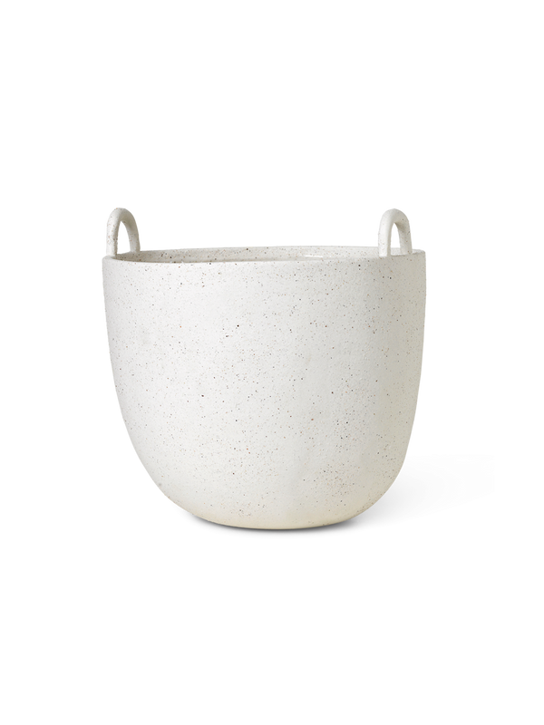 ferm LIVING | Speckle Pot - Off White - Large