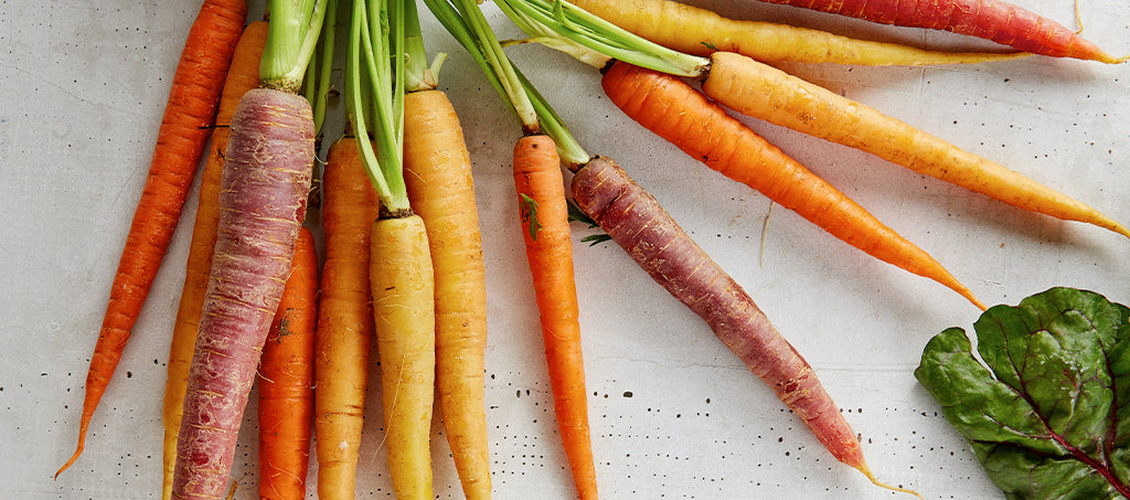 Different types of carrots